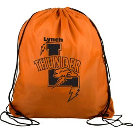 Personalized Polyester Drawstring Back Pack