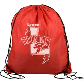 Polyester Drawstring Back Pack with Your Logo