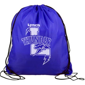 Polyester Drawstring Back Pack Giveaways