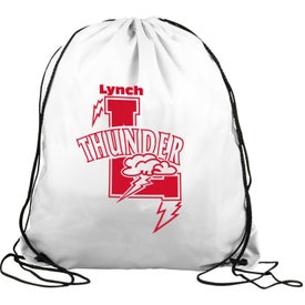 Polyester Drawstring Back Pack Branded with Your Logo
