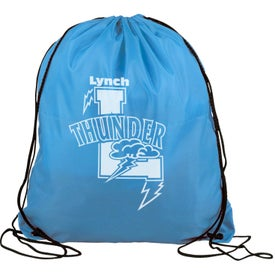 "Polyester Drawstring Back Pack (18"" x 15"")"