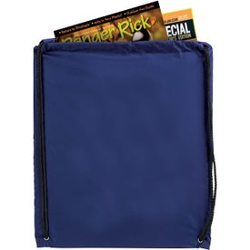 Printed Nylon Drawstring Backpacks