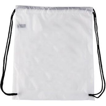 Promotional Nylon Drawstring Backpacks with Custom Logo for $1.32 Ea.