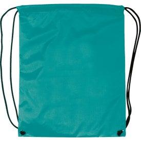 Imprinted Nylon Drawstring Backpacks