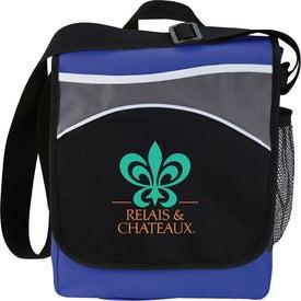 The Oasis Messenger Bag for Advertising