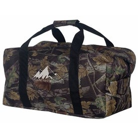 Oilman's Duffel Bag Printed with Your Logo