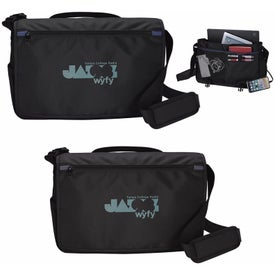 Ollie Charging Messenger Bag