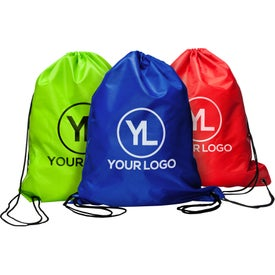 Olympian Drawstring Backpack (Screen Print)