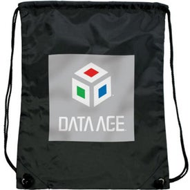 Branded Olympian Drawstring Backpack