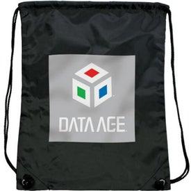 Branded Olympian Drawstring Backpack
