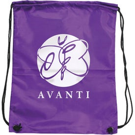 Promotional Olympian Drawstring Backpack