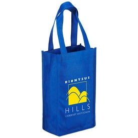 Orchard Breeze 2 Bottle Wine Bag Printed with Your Logo