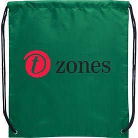 The Oriole Drawstring Backpack with Your Logo