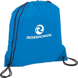 The Oriole Drawstring Backpack Branded with Your Logo