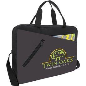 Branded Outline Briefcase