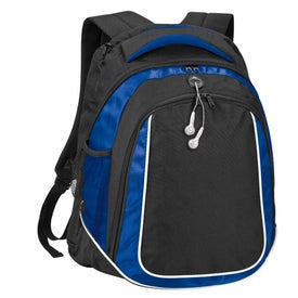 Logo Oxford Laptop Backpack