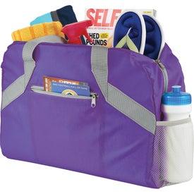 Logo Packaway Duffel Bag