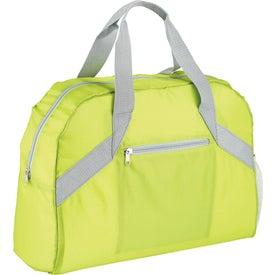 Monogrammed Packaway Duffel Bag
