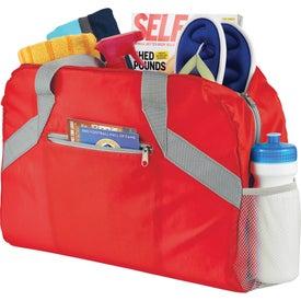 Packaway Duffel Bag for Advertising
