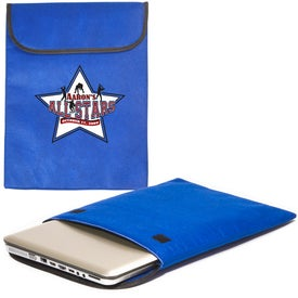 Branded Padded Laptop Sleeve - Non-Woven - 75GSM
