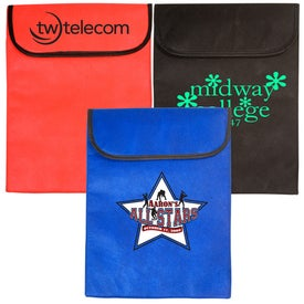 Logo Padded Laptop Sleeve - Non-Woven - 75GSM