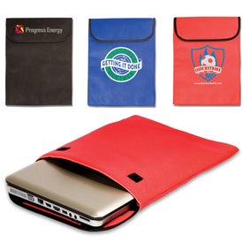 Advertising Padded Laptop Sleeve - Non-Woven - 75GSM
