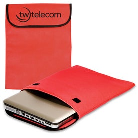 Padded Laptop Sleeve - Non-Woven - 75GSM for Your Organization