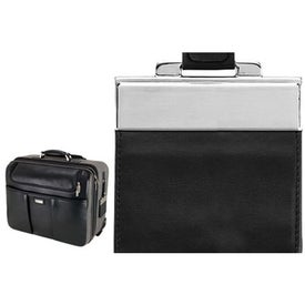 Advertising Palermo Napa Leather Canvas Trolley Case