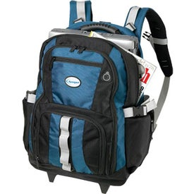 Advertising Passage Wheeled Backpack
