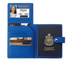 Imprinted Passport ID Holder
