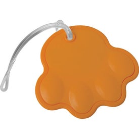 Paw Luggage Tag for your School