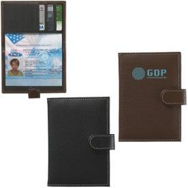 Pebble Grain Passport Holder