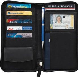 Printed Pedova Travel Wallet