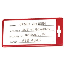 Personalized Luggage Tag Giveaways