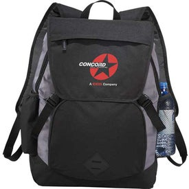 Pike Compu-Backpack Printed with Your Logo