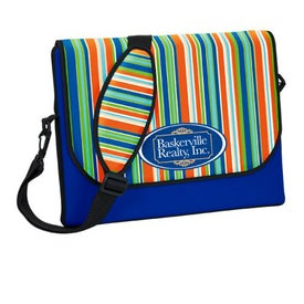 P.K. Reese Messenger Bag Style Laptop Sleeve Printed with Your Logo