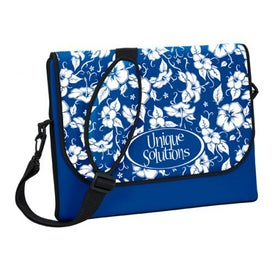 P.K. Reese Messenger Bag Style Laptop Sleeve