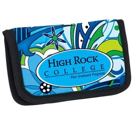 PK Reese Stock Pattern Business Card Holder Branded with Your Logo