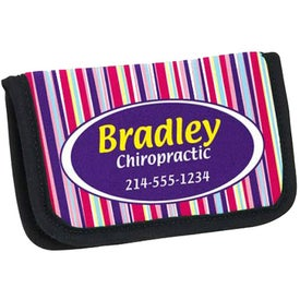 Personalized PK Reese Stock Pattern Business Card Holder