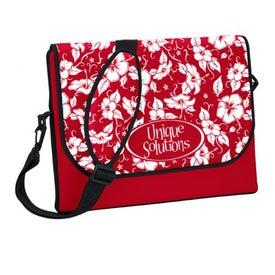 Personalized P.K. Reese Designer Messenger Bag Style Laptop Sleeve