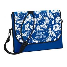 P.K. Reese Designer Messenger Bag Style Laptop Sleeve for Your Church