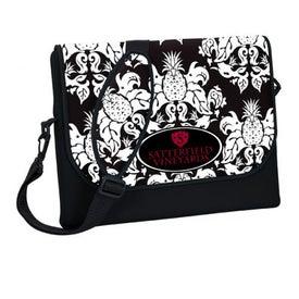 Imprinted P.K. Reese Designer Messenger Bag Style Laptop Sleeve