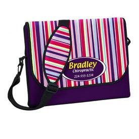 P.K. Reese Designer Messenger Bag Style Laptop Sleeve for Marketing