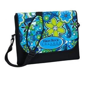 P.K. Reese Designer Messenger Bag Style Laptop Sleeve
