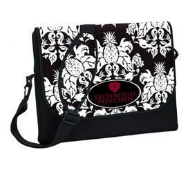 P.K. Reese Designer Messenger Bag-Style Laptop Sleeve