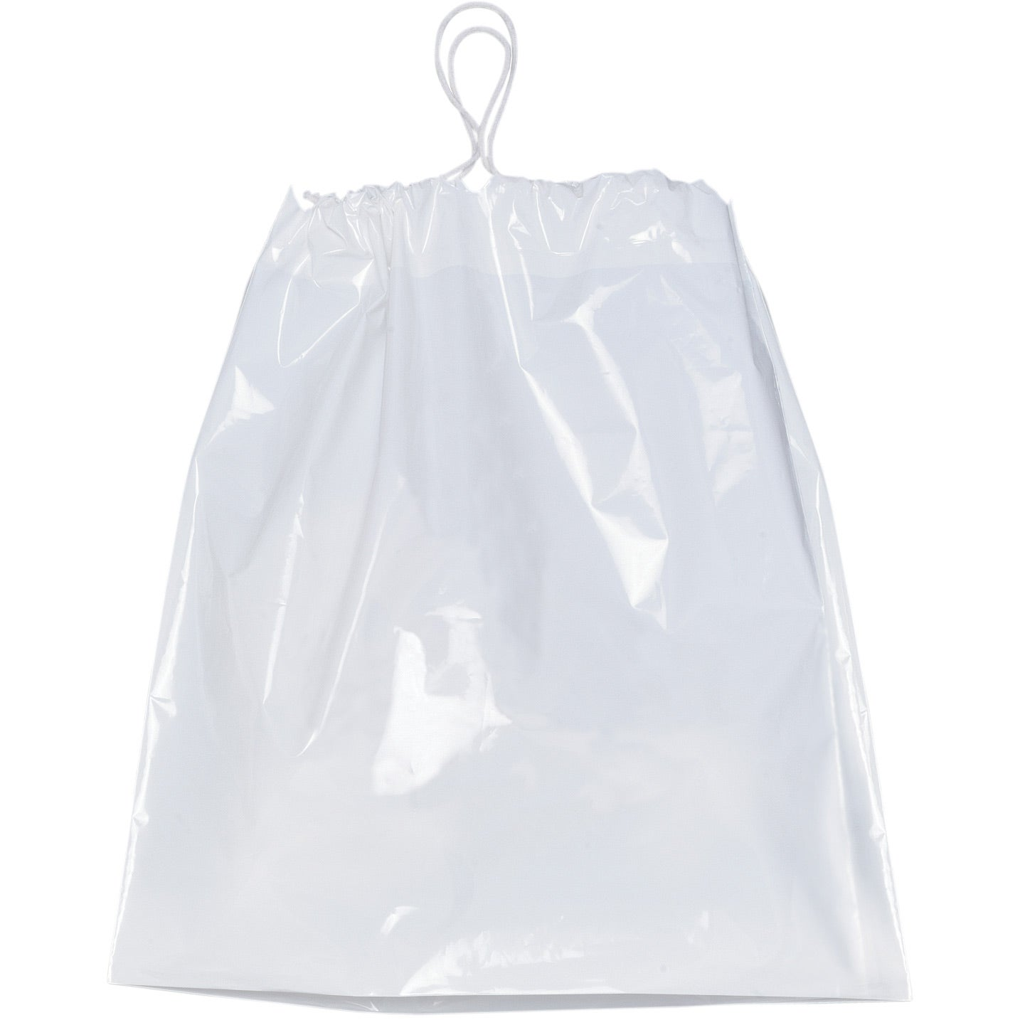 Promotional Plastic Bag With Cotton Drawstrings Custom Logo For 0 91 Ea