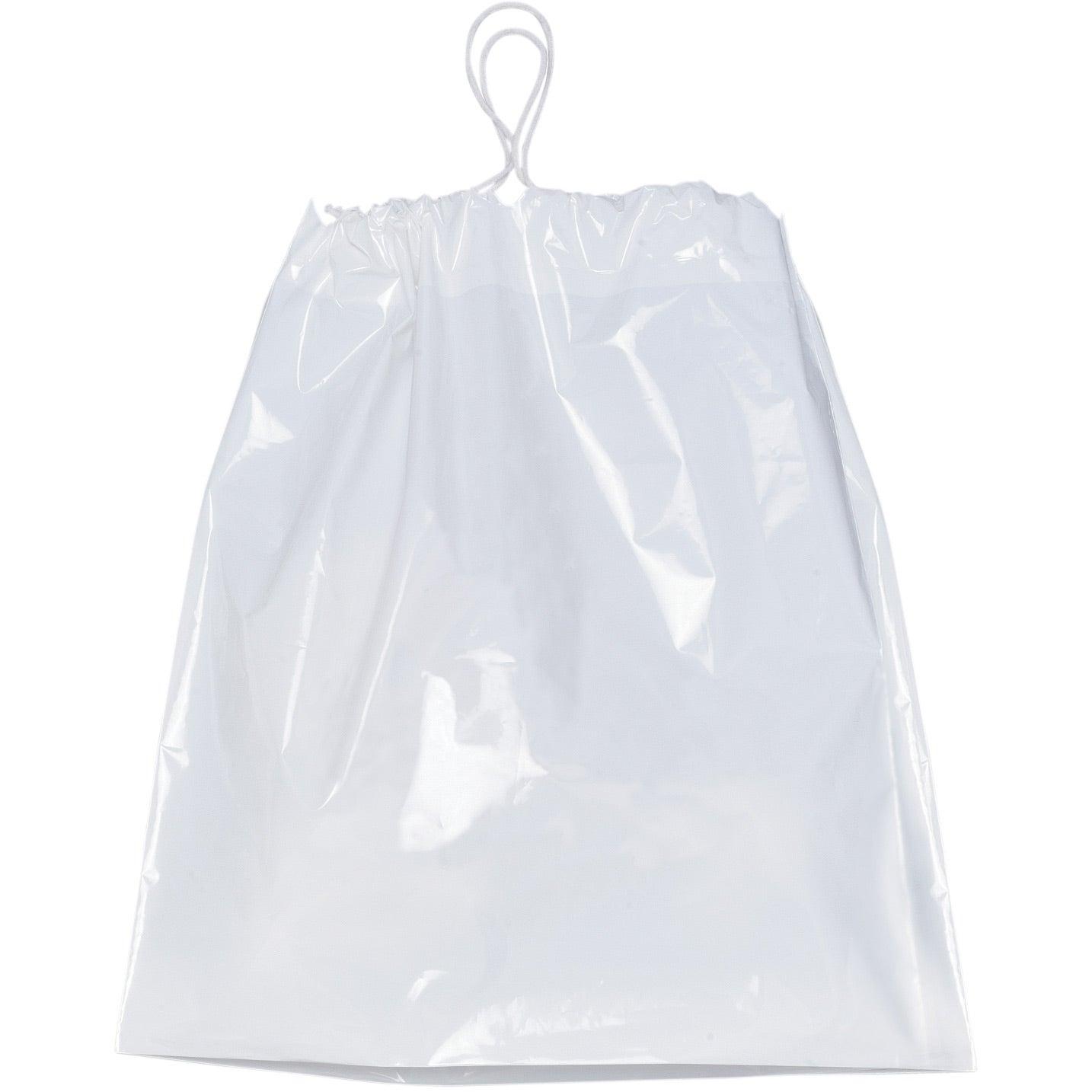 Plastic bag with drawstring bags more for Custom plastic t shirt bags