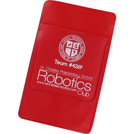 """Logo Pocket Protector with 3"""" Flap"""