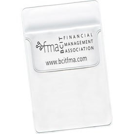 """Branded Pocket Protector with 1 3/4"""" Flap"""