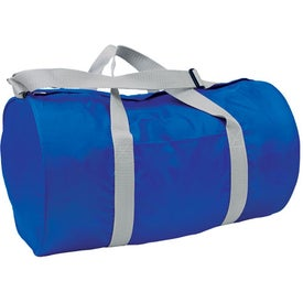 Poly/Nylon Budget Duffel Printed with Your Logo